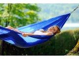 Αιώρα αλεξίπτωτο Parachute Silk travel Set  Ατομική Μπλε