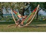 Ξύλινη Βάση Canoa Wooden Stand για οικογενειακές αιώρες